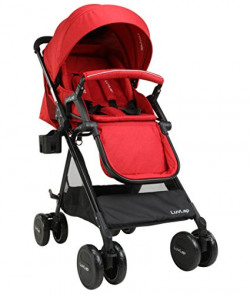 LuvLap Baby New Sports Stroller - Red