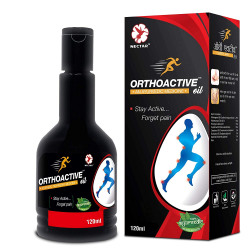 Dr Trust Orthoactive Pain Relief Oil - 120 ml (Pack of 2)
