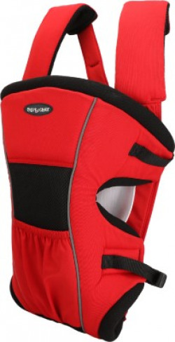 Miss & Chief 2 in 1 Position Baby Carrier(Red, Front carry facing out)