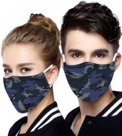MINIMALIST CLOTHING 3CAMO-PK2 Cloth Mask  (Pack of 2)