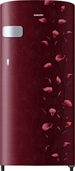 Samsung 192 L 2 Star ( 2019 ) Direct Cool Single Door Refrigerator(RR19N1Y12RZ/HL / RR19R2Y12RZ/NL, Tender Lily Red)