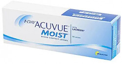 Acuvue 1 Day Moist Daily Contact Lens - 30 Pieces