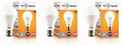 Wipro Garnet 15-Watt LED Bulb (Pack of 3, Cool Day Light)