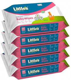 Little's Soft Cleansing Baby Wipes with Aloe