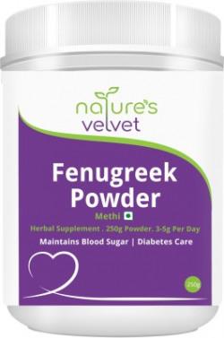 Nature's Velvet Fenugreek Methi Powder 250g Pack of 1(250 g)