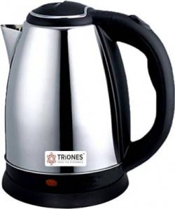 Triones TEK-001 Electric Kettle(1.8 L, Silver)