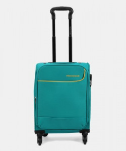 Provogue P4W1-20-17-5024-TPG TEAL BLUE Expandable  Cabin Luggage - 20 inch(Teal)