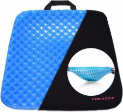 Wonder World ® Gel Flex Cushion Seat Sitter Flex Pillow Back Support Sit On an Egg Hip Support(Blue)