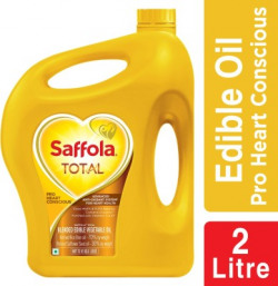 Saffola Total Pro Heart Conscious Blended Oil Can(2 L)
