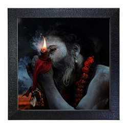 Sehaz Artworks 'Aghori' Wall Photo Painting (Carbon Fibre, 30 cm x 30 cm x 3 cm)