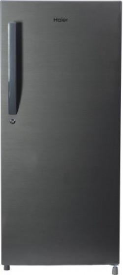 Haier 195 L Direct Cool Single Door 4 Star (2020) Refrigerator(Brushline Silver, HRD-1954CBS-E)