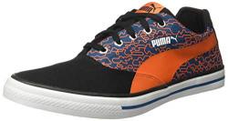 PUMA Men's Hip Hop NM IDP White Black-Firecracker-Corsair Sneakers- 6 UK/India (39 EU) (4060979674226)