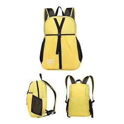 KEKEMI Casual Multifunctional Travel Backpack for Boys & Girls (Yellow)