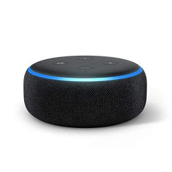 Echo Dot (3rd Gen) – Smart speaker with Alexa (Black)
