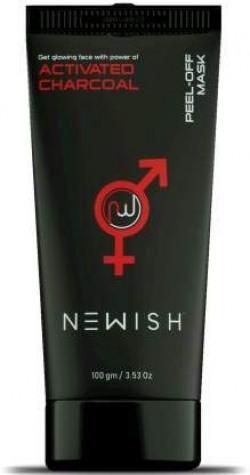 Newish Charcoal Peel off Mask for Men & Women 100 gm