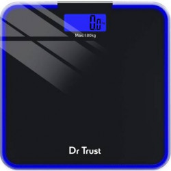 Dr. Trust (USA) Supernova Digital Personal Electronic Weight Machine For Human Body Weighing Scale  (Black)
