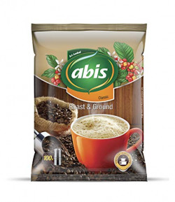 Abis Coffee Beans and Ground Coffee, 100 g Each - Pack of 5