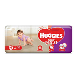 Huggies Wonder Pants, Medium Size Diapers, 38 Count @319 + 10% Coupon.