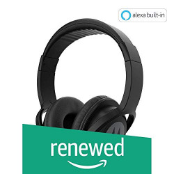 (Renewed) Motorola Pulse 100 Over The Ear Headphones (Black)