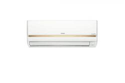 Hitachi 1.0 Ton Inverter 3 Star Copper RSFG311HCEA Split AC (White/Gold)