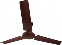 FOUR STAR Classic 2 Year Warranty 1200 mm Ultra High Speed 3 Blade Ceiling Fan  (Brown, Pack of 1)