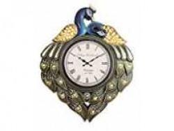 RoyalsCart Peacock Analog Wall Clock, Multi Rs.446 @ Amazon