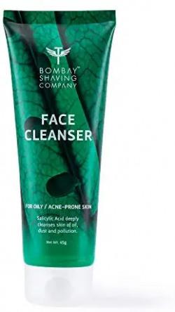 Bombay Shaving Company Anti-Acne Face Cleanser, With Salyclic Acid For Oily Skin, 100g   Paraben, SLS, SLES Free Amazon's Choice