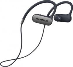 Hammer Grip in The Ear Bluetooth Headset(Blue, Wireless in the ear)