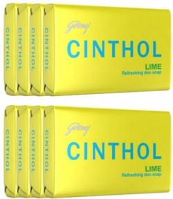 Cinthol Lime Soap(6 x 100 g)