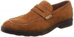 Woodland Men's Brown Leather Sneakers-9 UK/India (43 EU) (W338702)
