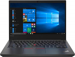 Lenovo ThinkPad E14 Intel Core i5 10th Gen 14-inch Full HD Thin and Light Laptop (8GB RAM/ 1TB HDD + 128GB SSD/ Windows 10 Home/ Microsoft Office Home& Student 2019/ Black/ 1.77 kg), 20RAS0S800