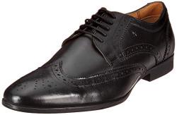 Arrow Men's Baldwin Black Leather Formal Shoes-11 UK (45 EU) (12 US) (2521907905)
