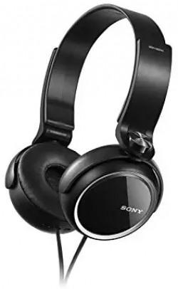 (Renewed) Sony Extra Bass MDR-XB250 On-Ear Headphones (Black)