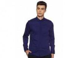 True Blue Men's Printed Slim fit Casual Shirt