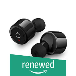 (Renewed) Tiktronix XIT Truly Wireless Bluetooth Earphones (Black)