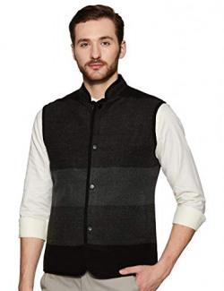 Park Avenue Men's Shawl Collar Slim Fit Blazer (PCJI00176-B8_Dark Blue_104)