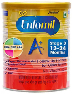 Enfamil A+ Stage 3: Follow-Up Formula (12 to 24 Months) 400g