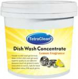 60% Off On Tetraclean Superior Quality Dish Wash Concentrate Powder for Formulation of 10 L Dish Wash Gel in Lemon Fragrance 500g