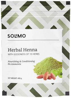 Solimo Amazon Brand - Solimo Herbal Henna, 400g