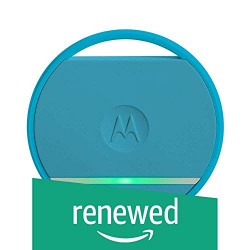(Renewed) Motorola Connect Coin with Selfie Button and Key/Phone Finder (Blue)