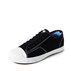 Amazon Brand - Symbol Men's Black Sneakers-6 UK/India (40 EU) (AZ-GI-365B)