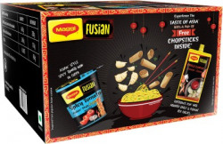 MAGGI Fusian Spicy Tomato Asian Style Cuppa Noodles with Chilli Garlic Chinese Sauce Combo(450 g)