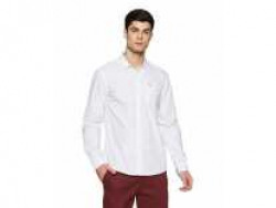 Lee Men's Printed Slim Fit Casual Shirt (L33231CB0X86_Jsw-White_XL) Rs. 517 - Amazon