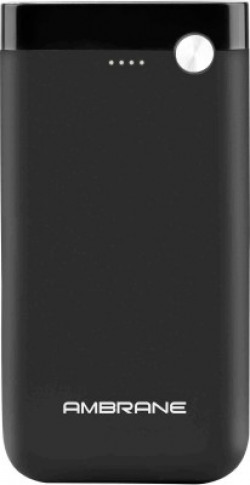 Ambrane 15000 mAh Power Bank (Fast Charging, 10 W)(Black, Lithium Polymer)