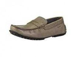 Ruosh Men's Olive Leather Loafers-9 UK/India (43 EU) (1831041950_9) Rs.776 @ Amazon