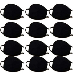 Melcom Cotton double layered Reusable Cotton Mouth Nose Face Mask, Anti Pollution Bike/Scooter Driving Protection for Filtering The Air, Free Size (Plain pack of 12)