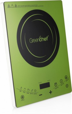 Greenchef V011 Induction Cooktop(Green, Touch Panel)