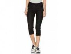 Flying Machine Women's Capri Jeans (FWJNFL28_Black_26) Rs. 342 - Amazon