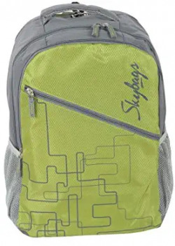 Skybags Backpack - Diamond Ripstop - 45 x 35 x 21.5 cm - Green