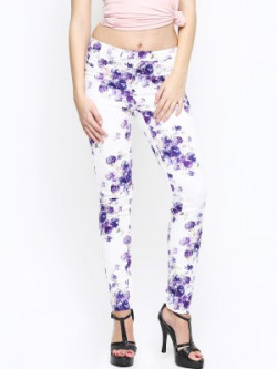 Vero Moda Regular Fit Women White Trousers